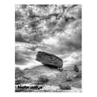 Toadstool Geologic Park, Nebraska Postcard