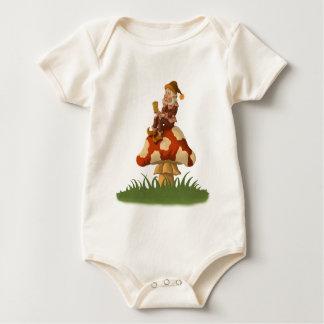 toadstool gnome infant creeper