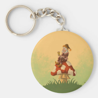 toadstool gnome keychain