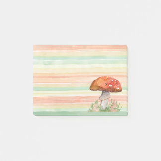 Toadstool Post-it Notes