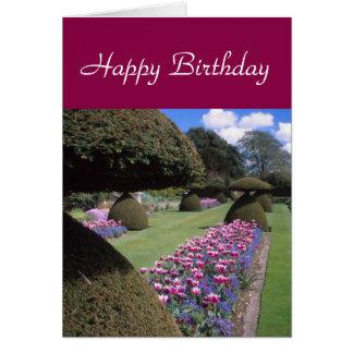 Toadstool-topiary card