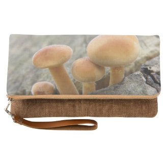 Toadstools on a Tree trunk Clutch