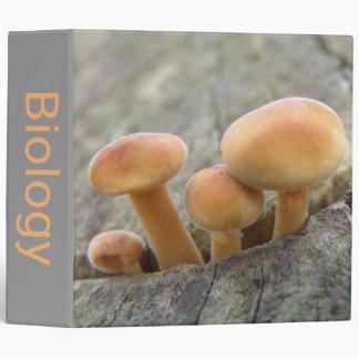 Toadstools on a Tree Trunk Custom Binder