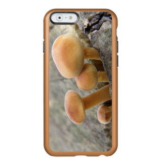 Toadstools on a Tree Trunk iPhone Case