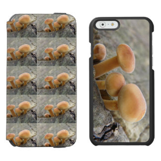 Toadstools on a Tree Trunk iPhone Wallet Case Incipio Watson™ iPhone 6 Wallet Case