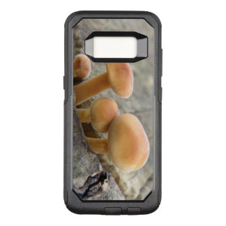 Toadstools on a Tree Trunk Phone Case