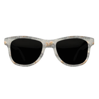 Toadstools on a Tree Trunk Sunglasses