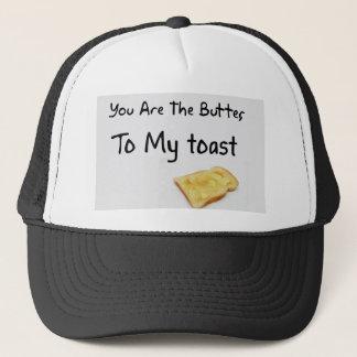 Toast Bread Love Words Trucker Hat