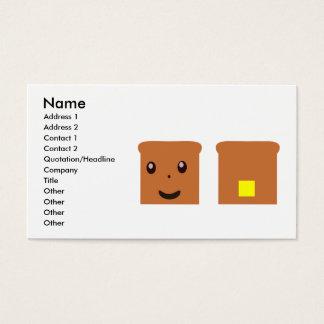 Toast Business Card
