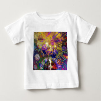 Toast in New Year celebration party. Baby T-Shirt