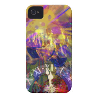 Toast in New Year celebration party. Case-Mate iPhone 4 Cases