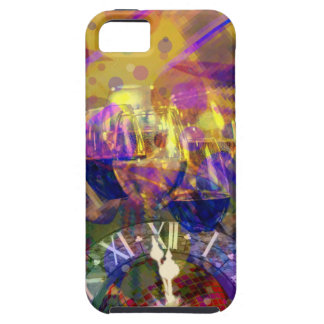 Toast in New Year celebration party. iPhone 5 Covers
