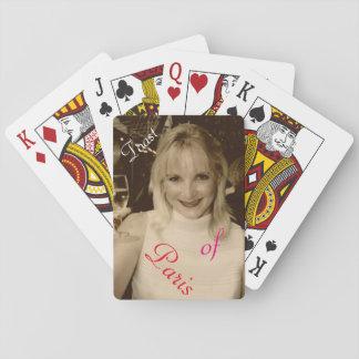 'Toast of Paris' Playing Cards