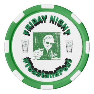 #ToastandPost Poker Chip