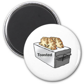 Toasted 2 Inch Round Magnet