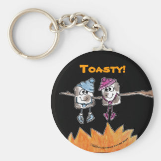 Toasted Marshmallows Keychain