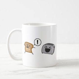 Toasted Toast Tanlines Classic White Coffee Mug