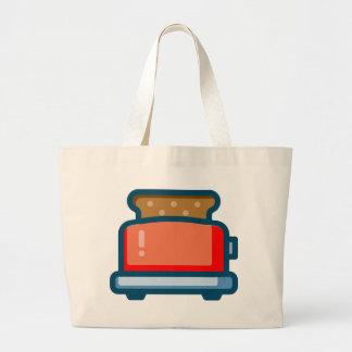 Toaster Large Tote Bag