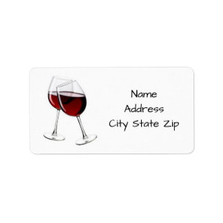 ****TOASTING THE WINE***ADDRESS LABLES LABEL