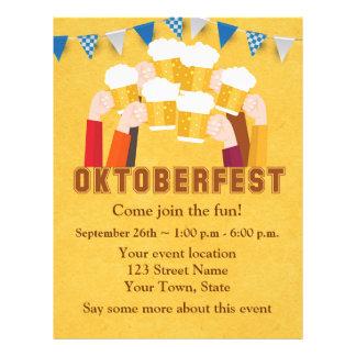 Toasting to Oktoberfest Flyer