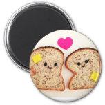 Toasty Love Fridge Magnets