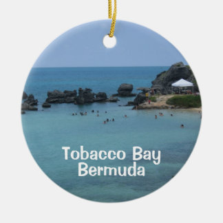 Tobacco Bay, Bermuda Ceramic Ornament