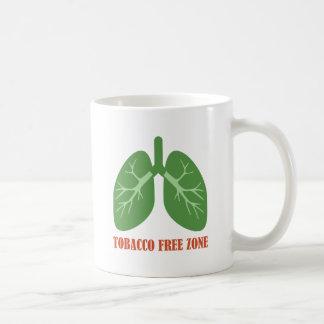 Tobacco Free Zone Coffee Mug