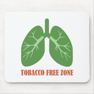 Tobacco Free Zone Mouse Pad