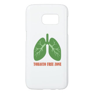 Tobacco Free Zone Samsung Galaxy S7 Case
