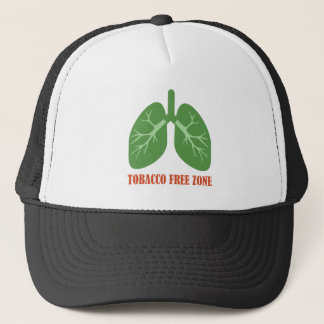 Tobacco Free Zone Trucker Hat