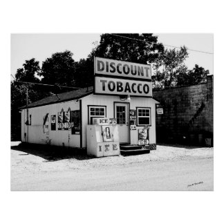 Tobacco Store, Baxter Tennessee Poster