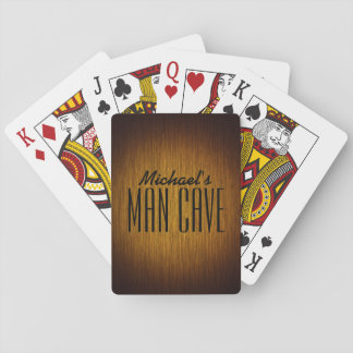 Tobacco Sunburst Man Cave Playing Cards