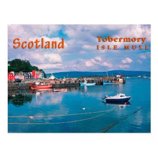 Tobermory, Isle of Mull, Scotland Postcard