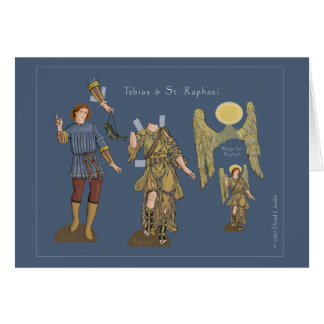 Tobias and St. Raphael Card