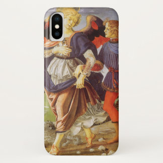 Tobias and the Angel by Andrea del Verrocchio Case-Mate iPhone Case