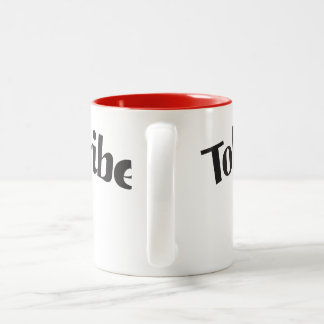 Tobias's Tribe mug