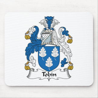 Tobin Family Crest Mouse Pad