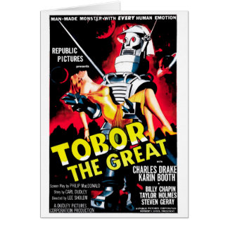 Tobor the Great Card