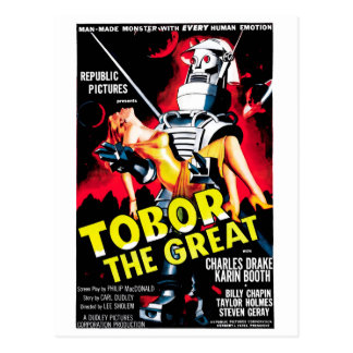 Tobor the Great Postcards