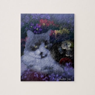 Toby Cat Jigsaw Puzzle