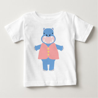 Toby Hippo Baby T-Shirt