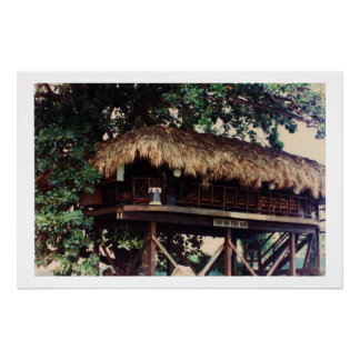 Toby Inn Tree House Bar Montego Bay Jamaica Canvas Poster