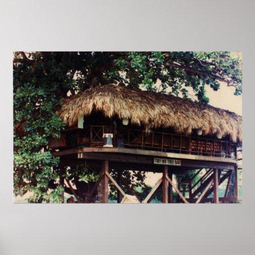 Toby Inn Tree House Bar, Montego Bay, Jamaica Larg Print