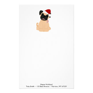 Toby the Pug Stationery
