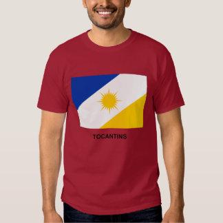 Tocantins, Brazil Flag T-shirt