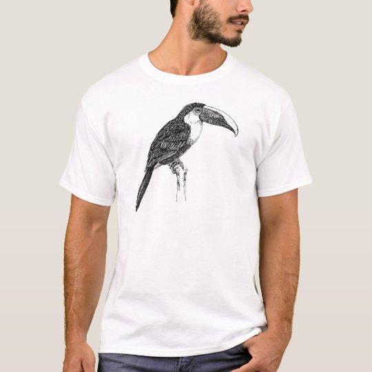 Toco Toucan B&W T-Shirt