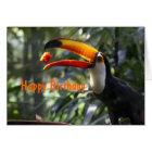 Toco Toucan Birthday Card