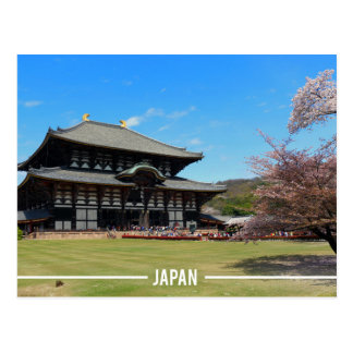 Tōdai-ji Temple in Nara, Japan Postcard