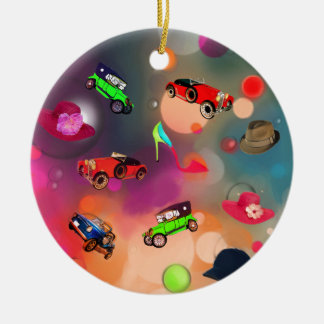 Today everything is trendy. ceramic ornament