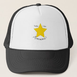 Today I Am Awesome clothing Trucker Hat